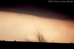 Photo courtesy of NSSL F0 rated tornado