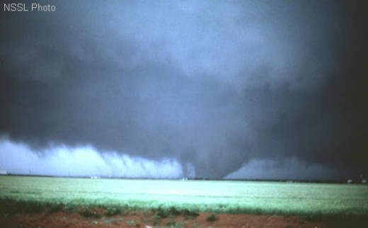 Photo courtesy of NSSL F3 rated tornado