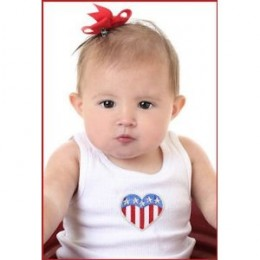 baby girls patriotic july 4th clothing