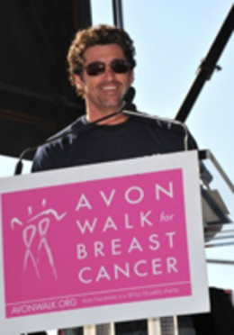 Avon Walk for Breast Cancer with  Patrick Dempsey
