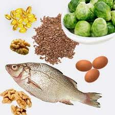 Good sources of Omega 3 fatty acids.