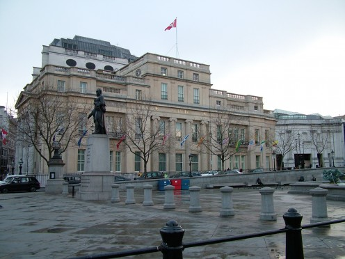Canada House, Trafalgar Square, London