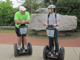 The guide on our Segway Tour of Nashville was wonderful!