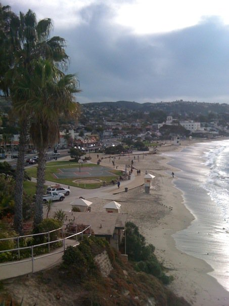 The surf along Laguna Beach is great for many water sports ... not just surfing.