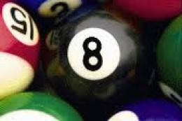 Lucky(?)  Eight Ball