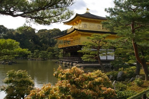 Kinkaku-ji - Temple of the Golden Pavilion