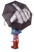 Daily Weird #43 Umbrella? Funbrella? Just buy a raincoat!