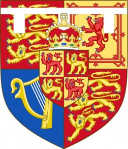 Shield of Charles, Prince of Wales