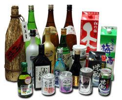 Variety of Japan's alcohol