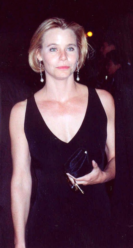 Susan Dey at the 1990 Golden Globe Awards.