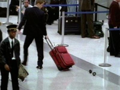 Real men carry their bags