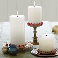 Inexpensive candles can liven the apartment space.