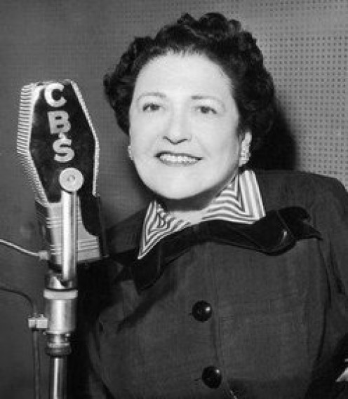 Louella Parsons was considered the inventor of celebrity gossip, and she and Hedda Hopper competed for every dirty little scandal they could dig up.  They were huge rivals and bitter enemies to the end.  Parsons died in 1972 at the age of 91.
