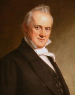 President James Buchanan b. 1791, d. 1868, POTUS #15, 1857 - 1861