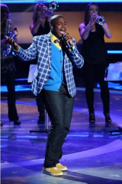 Jacob Lusk eliminated May 5, 2011 - American Idol 2011 Top 5 - American Idol 2011 Season 10 Updates, Contestants, Results, Performances