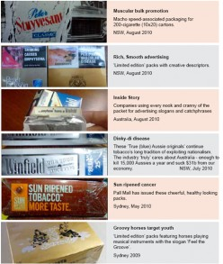 The Tobacco Industry's tactics against the Anti Tobacco Movement