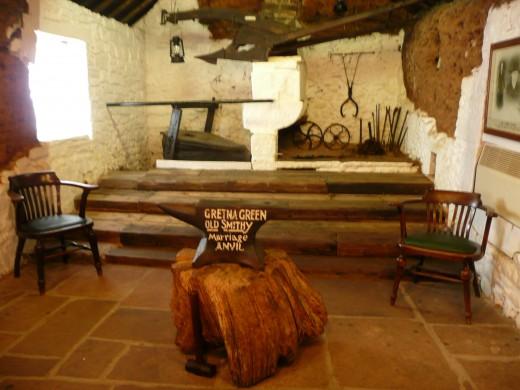 The famous anvil.