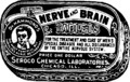 Nerve and Brain Tablets