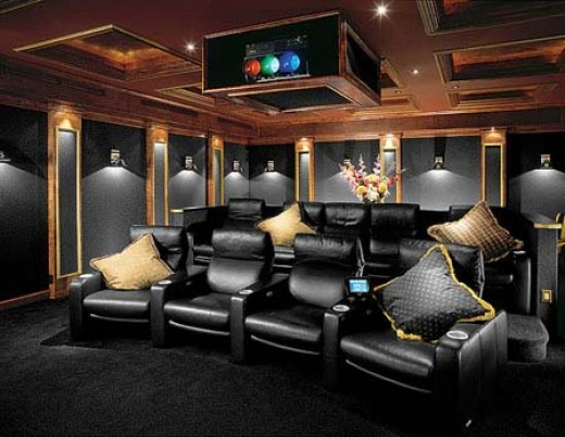 Family Pantry Collectibles Home Theater Ideas Movie Theater Decor Accents