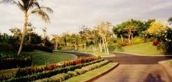 Entrance to the Ritz-Carlton Mauna Lani Hotel