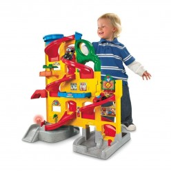 Best Gift Ideas - Toys Under $45: Fisher-Price Little People Wheelies Stand 'n Play Rampway