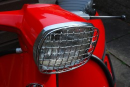 head light guard fitted