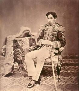 Emperor Meiji, also known as Mutsuhito.