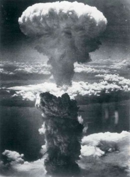 The atomic bomb forced the Japanese to surrender.