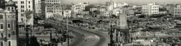 Rebuilding Tokyo after World War II.