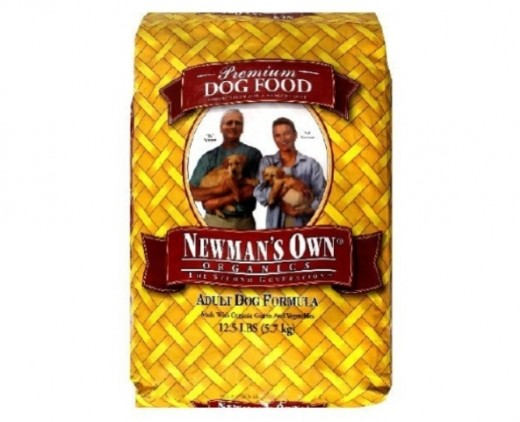 Newman's Own dog food
