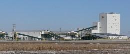 Monsanto  corn seed factory