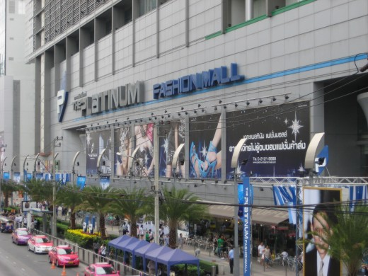 Platinum Fashion Mall is major shopping mall just opposite Pratunam Market
