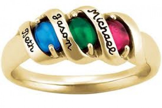 Mothers rings are one of the most popular items of jewelry each year for this holiday.
