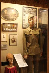 "Uniform of Charles ""Fred"" Parks"