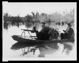 VC Guerrillas  patrolling the river banks