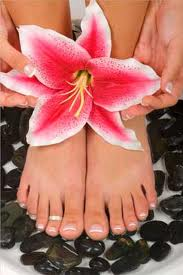How about a pedicure without the kiddies?