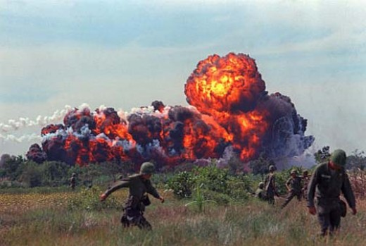 The Napalm, the killer bomb in Vietnam war