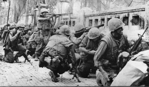The Tet offensive - We were there.