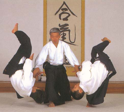 Aikido is considered to be a non-aggressive style, as the Aikido student does not instigate the attack.