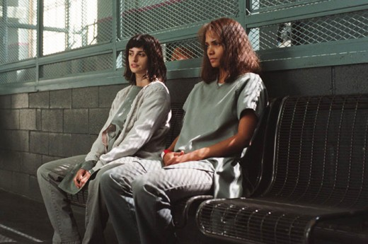 Penelope Cruz and Halle Berry still managing to look good considering their institutional situation.