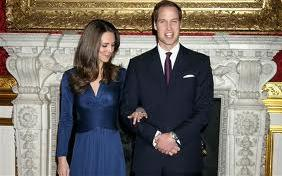 "Scene from the romantic comedy ""William and Kate."" Notice here how Kate is eyeing the package like a guided missile?"