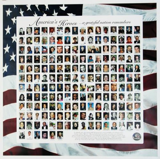 The Faces of Those Lost During the September 11, 2001 Attack on the Pentagon