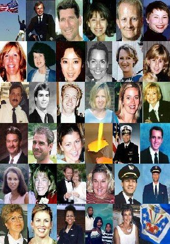 The Faces of the Members of The Flight Crews Lost in the Attacks of September 11, 2001
