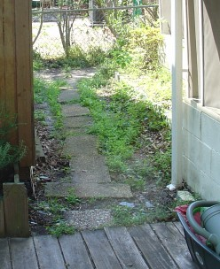 Home Building Projects: How (Not) To Build a Patio Walkway with Pavers