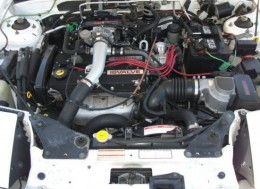 1991 Mercury Capri XR2 Turbo engine