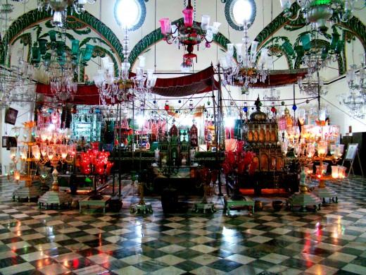 Inside Shah Najaf Imam Bargah