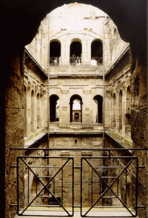 Inner court of the Porta Nigra, Trier