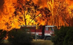 Recent Natural Disasters - the Worst Fires