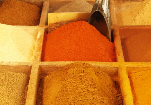 Curry Recipe Components - Oriental Spices