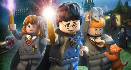 The fun fantasy world of Harry Potter and Legos
